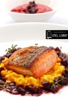 pan roasted salmon