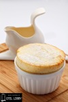 lemon and pear souffle