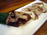 grilled marinated squid robatayaki