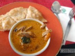 kalpapruek - red duck curry with roti